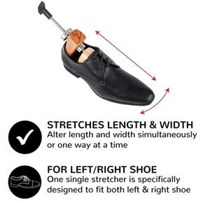 Premium 2-Way Shoe Stretcher Length and Width